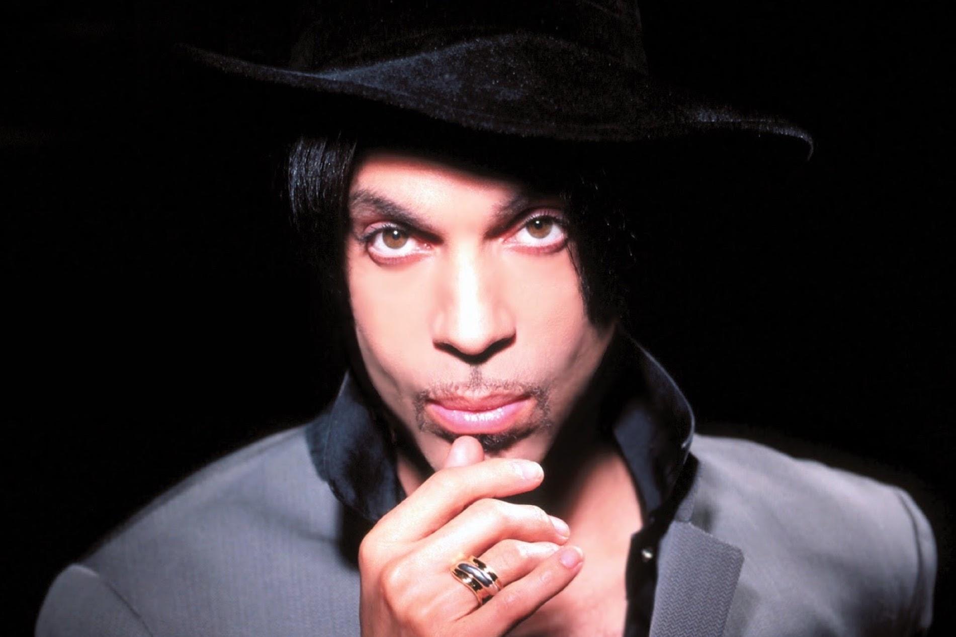 Prince photographié par James Armour