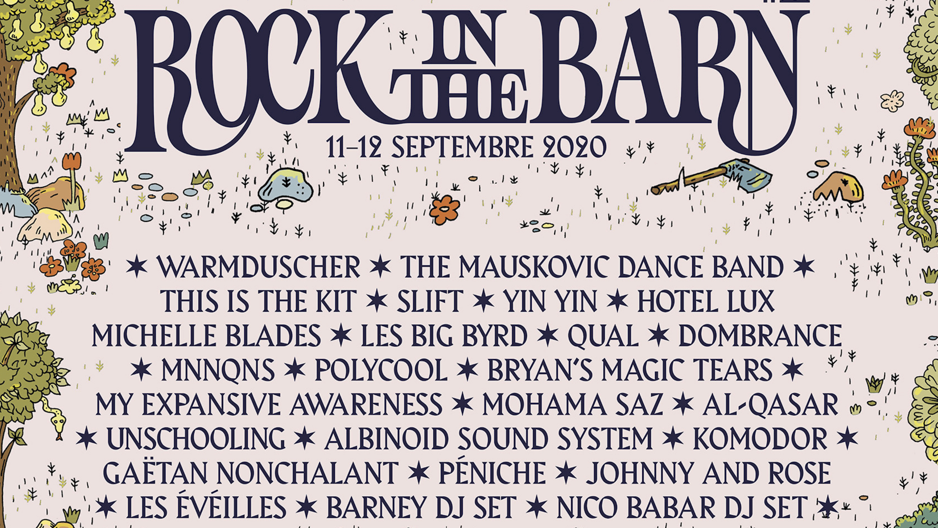 Rock in the Barn #11, edition 2020